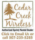 CEDAR CREEK WIRELESS